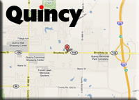Driving directions to Midwest Paints & Home Center in Quincy, IL, from your location.